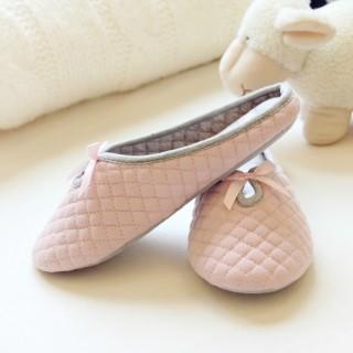 Тапочки Halluci «Вафли» розовые